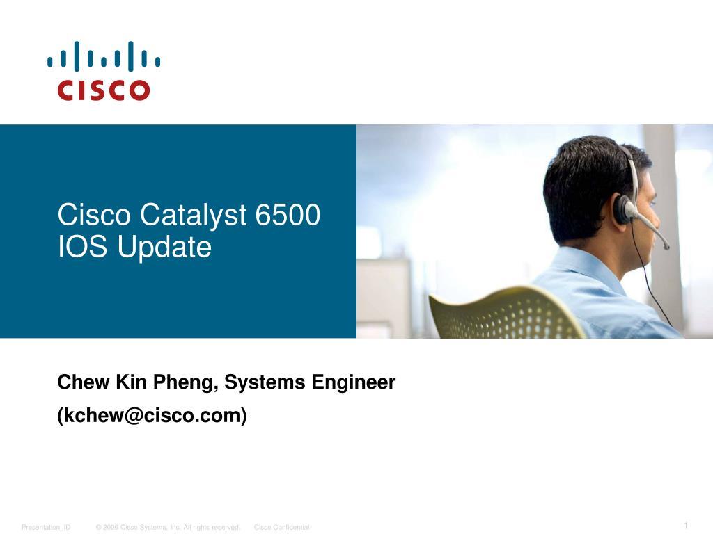 cisco catalyst 6500 ios update l.
