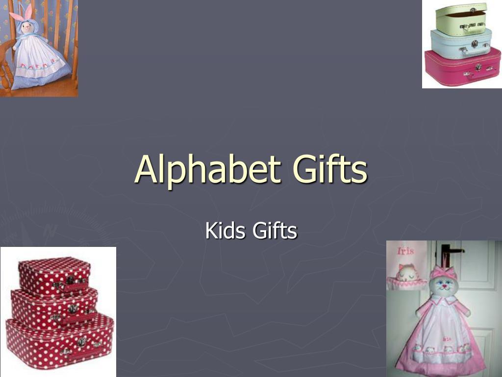 alphabet gifts l.