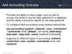 aaa accounting overview