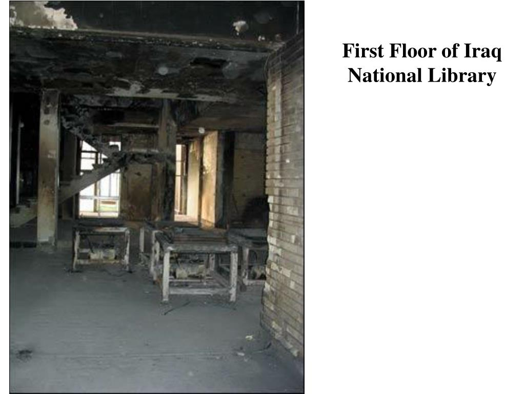 First Floor of Iraq National Library
