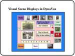 visual scene displays in dynavox30