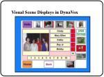 visual scene displays in dynavox32
