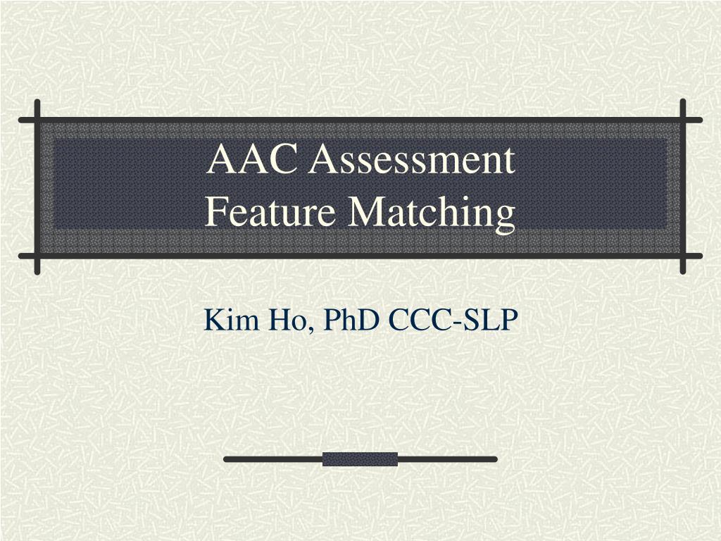 AAC Assessment