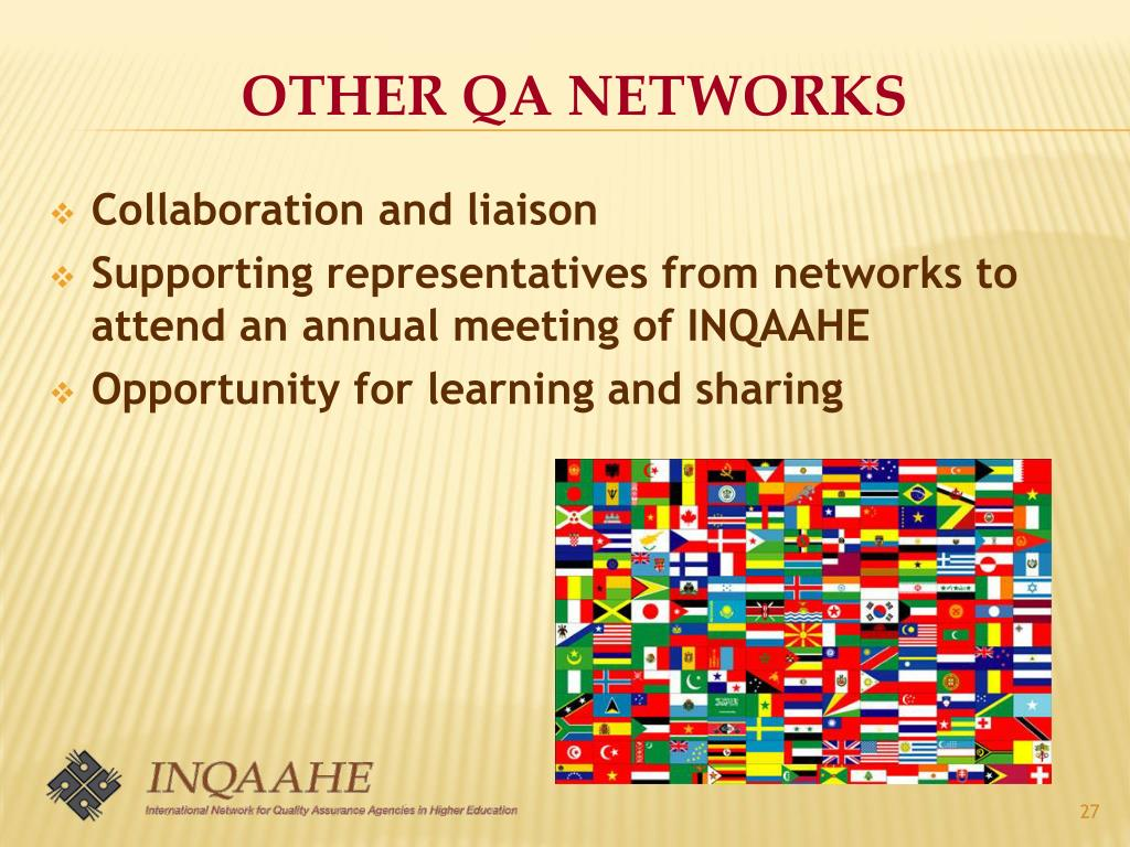 OTHER QA NETWORKS