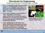 directorate for engineering research and education themes fy 2007 fy 2008