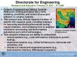 directorate for engineering research and education themes fy 2007 fy 200843