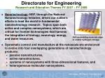 directorate for engineering research and education themes fy 2007 fy 200847