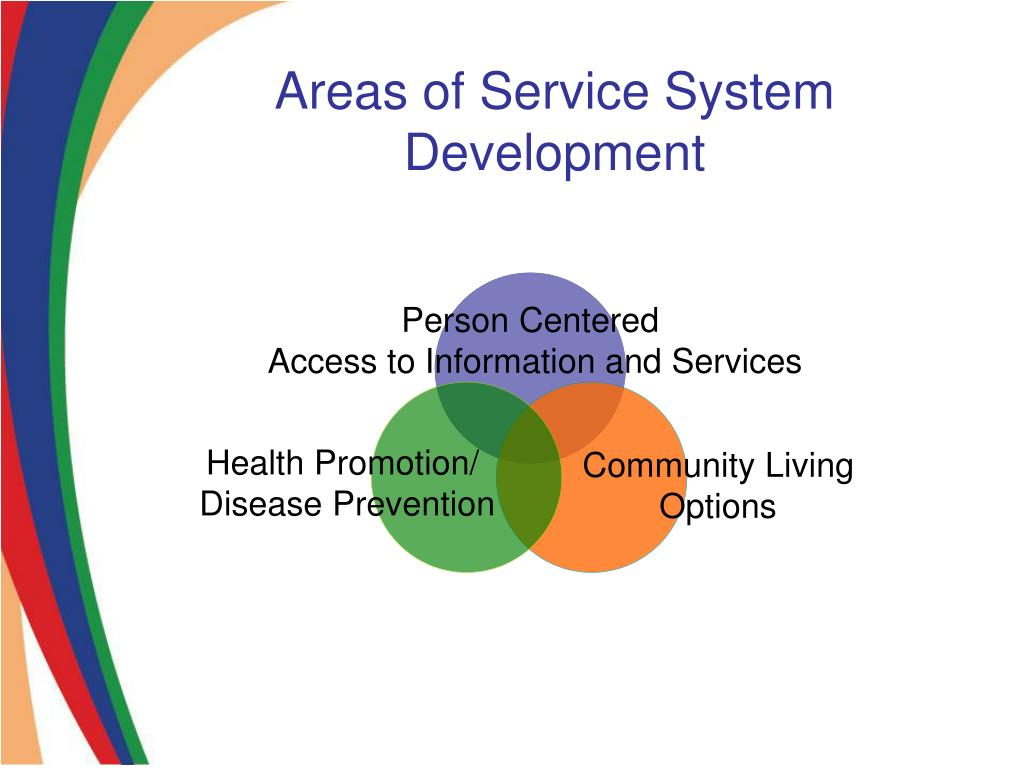 Areas of Service System Development