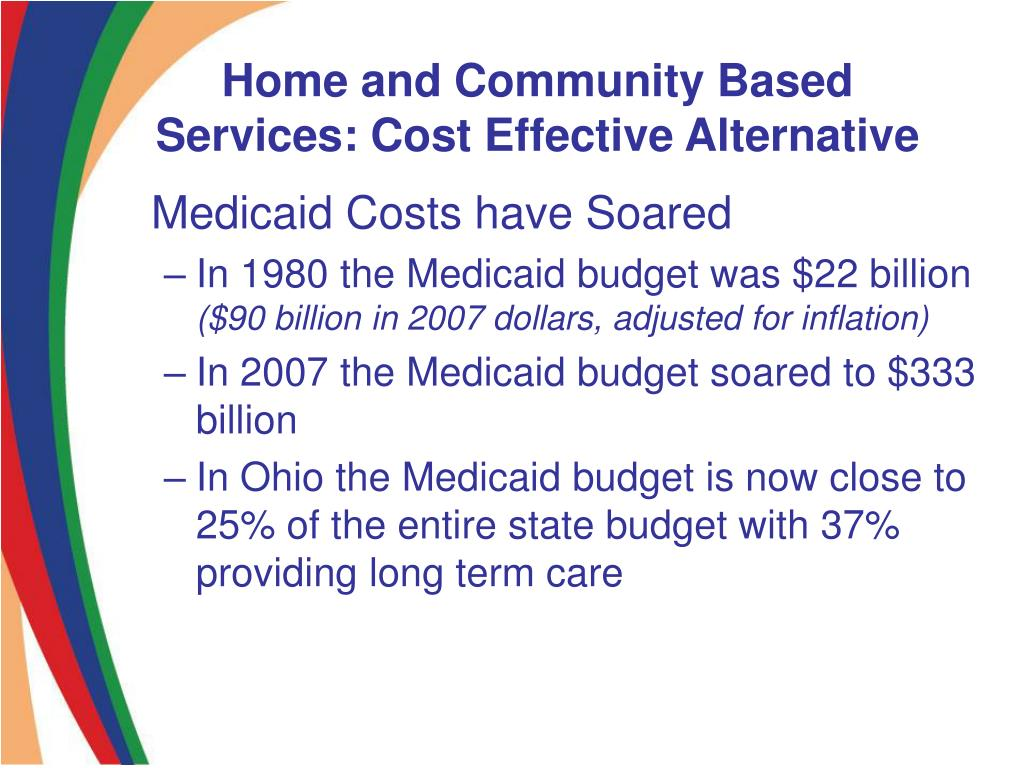 Home and Community Based Services: Cost Effective Alternative