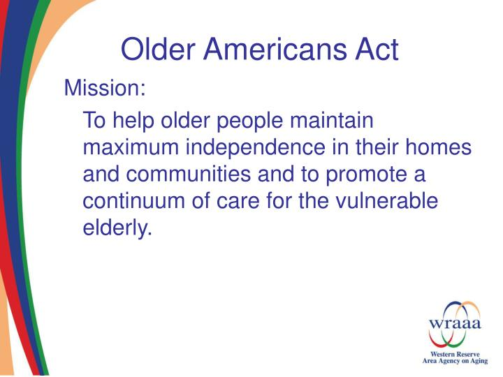 Older americans act3