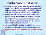 nuclear safety enhanced