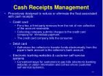cash receipts management1