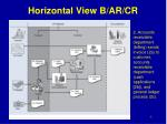 horizontal view b ar cr1