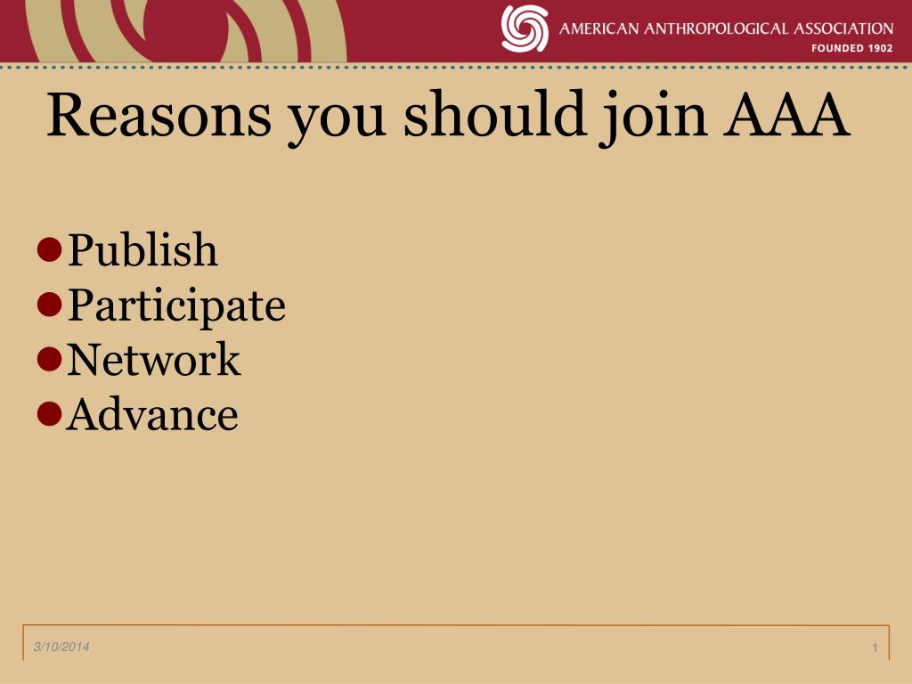 reasons you should join aaa l.