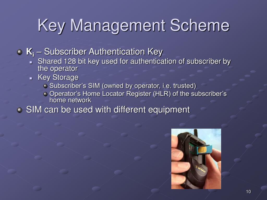 Key Management Scheme