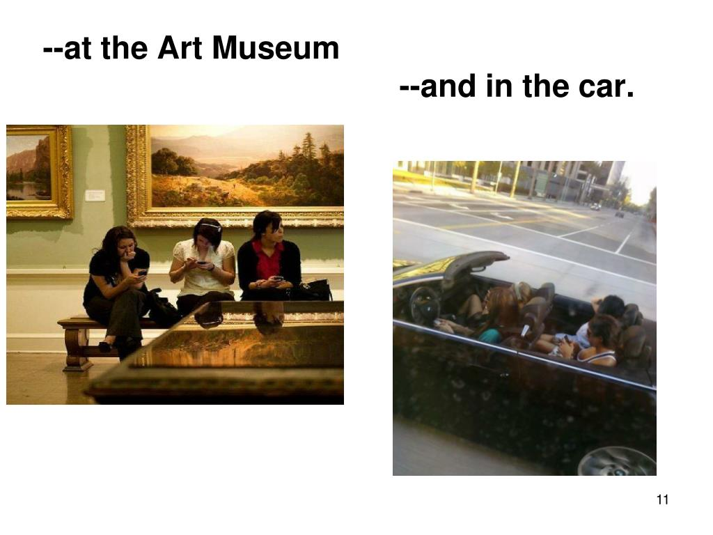 --at the Art Museum