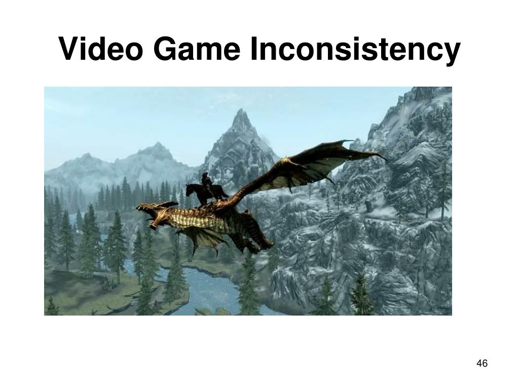 Video Game Inconsistency