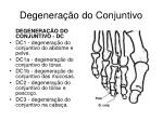degenera o do conjuntivo