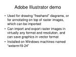 adobe illustrator demo