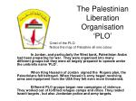 the palestinian liberation organisation plo