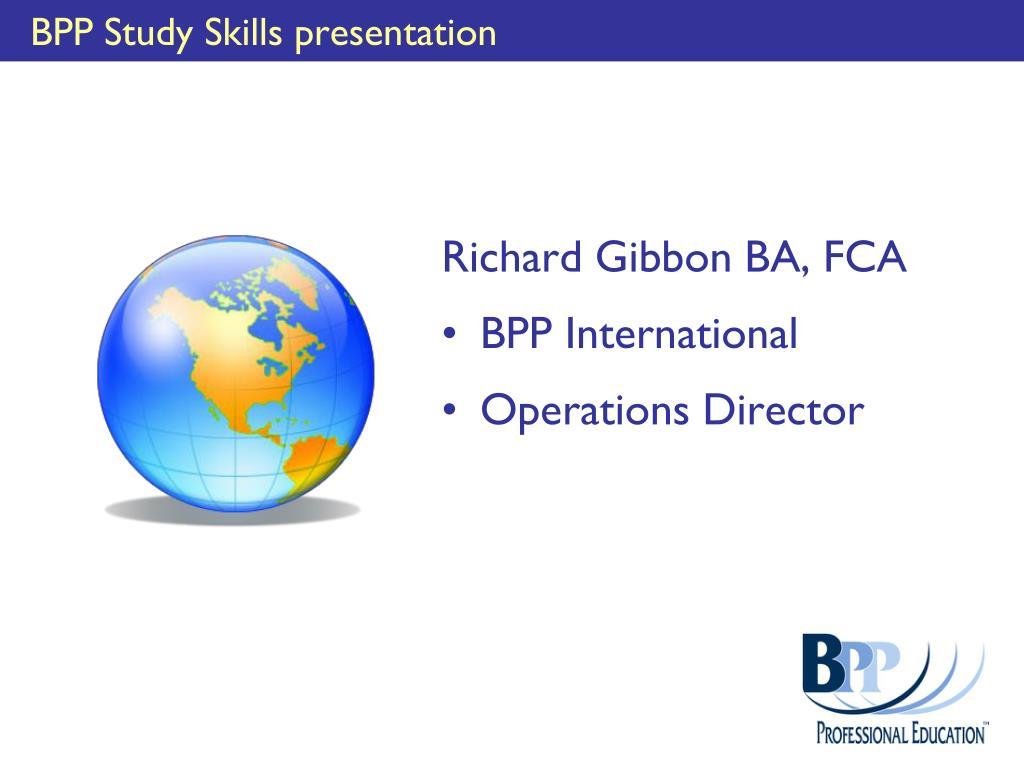 bpp study skills presentation l.