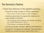 the geometry pipeline4