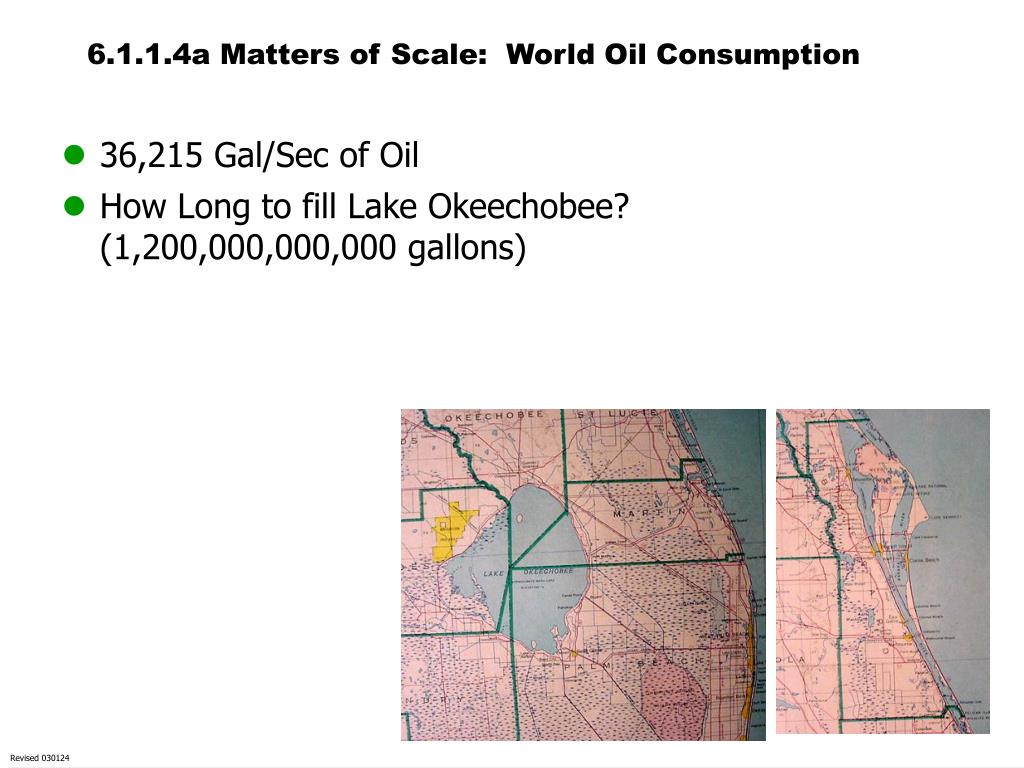 6.1.1.4a Matters of Scale:  World Oil Consumption