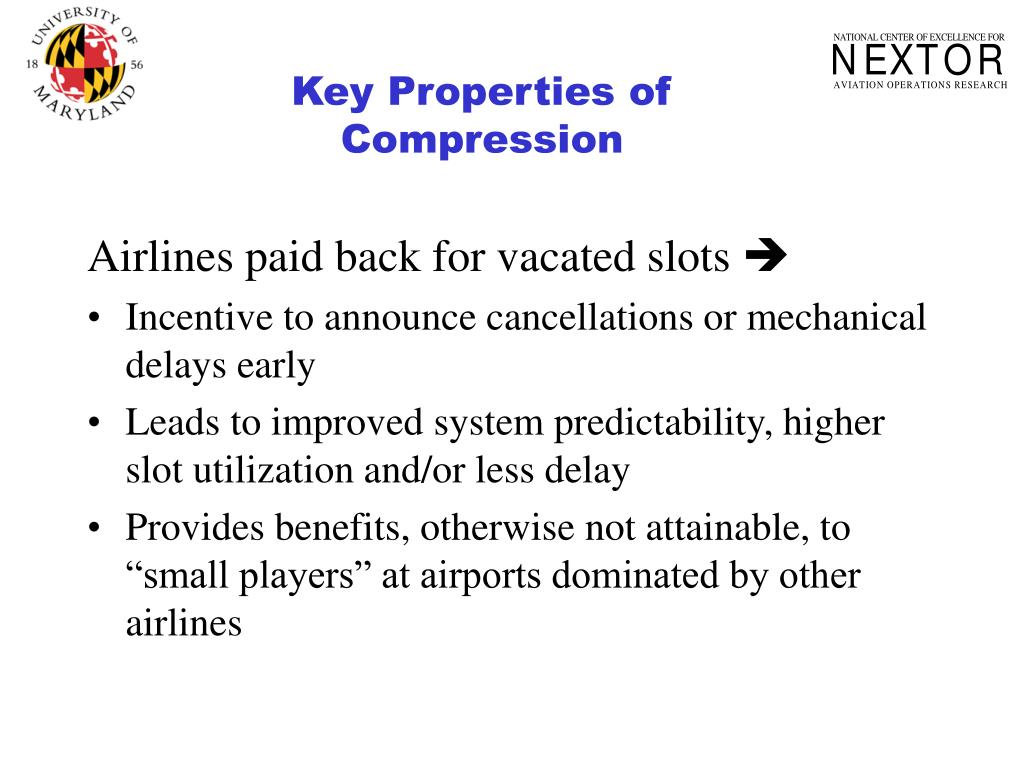 Key Properties of Compression