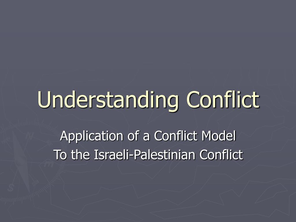 understanding conflict l.