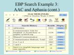 ebp search example 3 aac and aphasia cont92