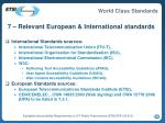7 relevant european international standards35
