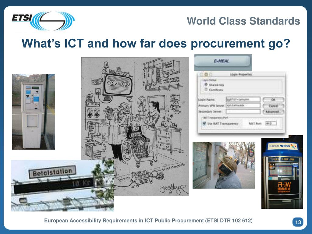 What's ICT and how far does procurement go?