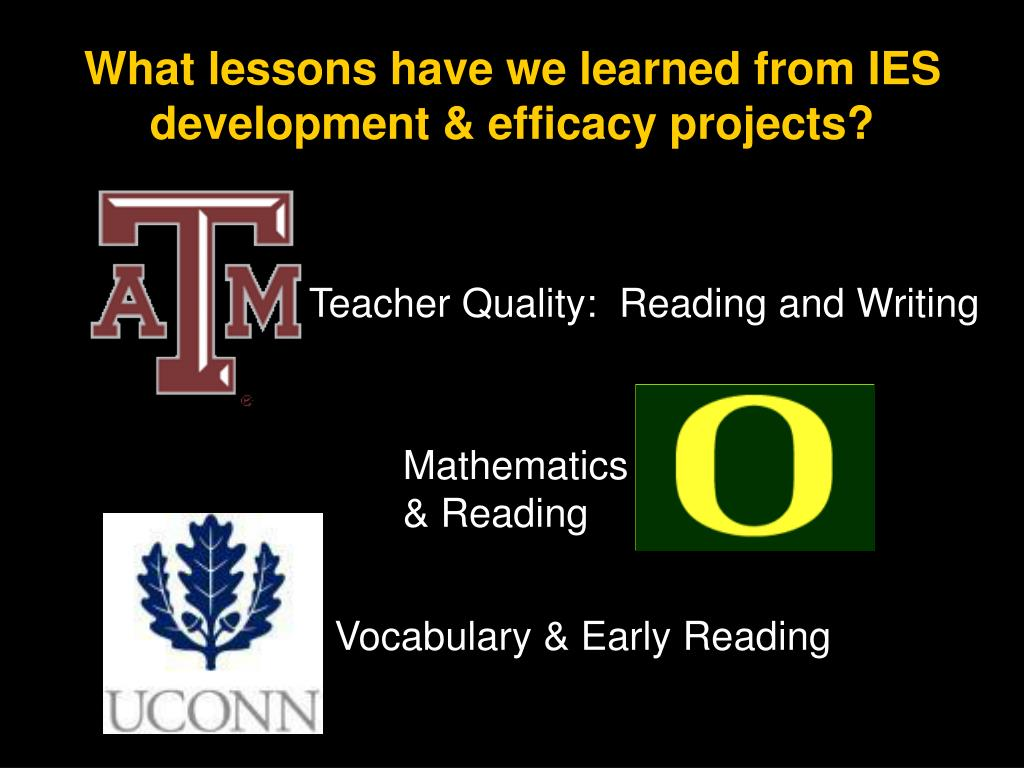 Teacher Quality:  Reading and Writing