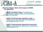 dsm iv adhd criteria continued9