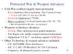 protracted war weapon advances