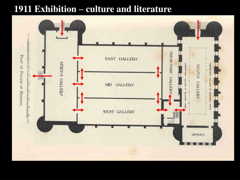 1911 Exhibition – culture and literature