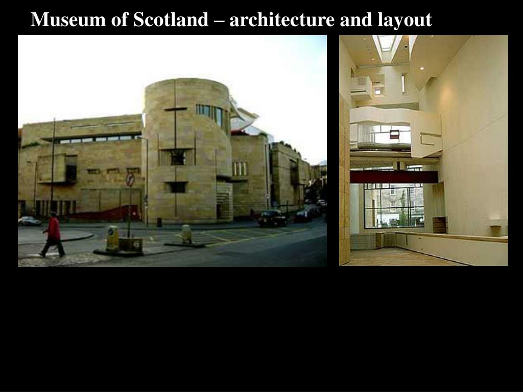 Museum of Scotland – architecture and layout