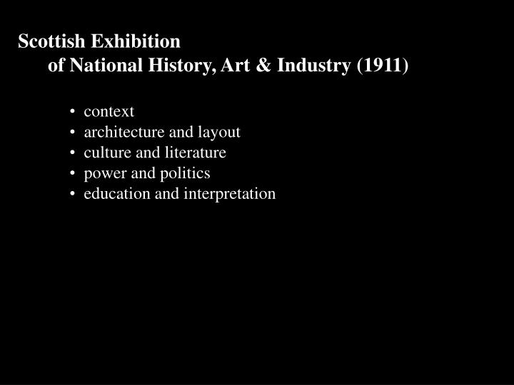 Scottish Exhibition