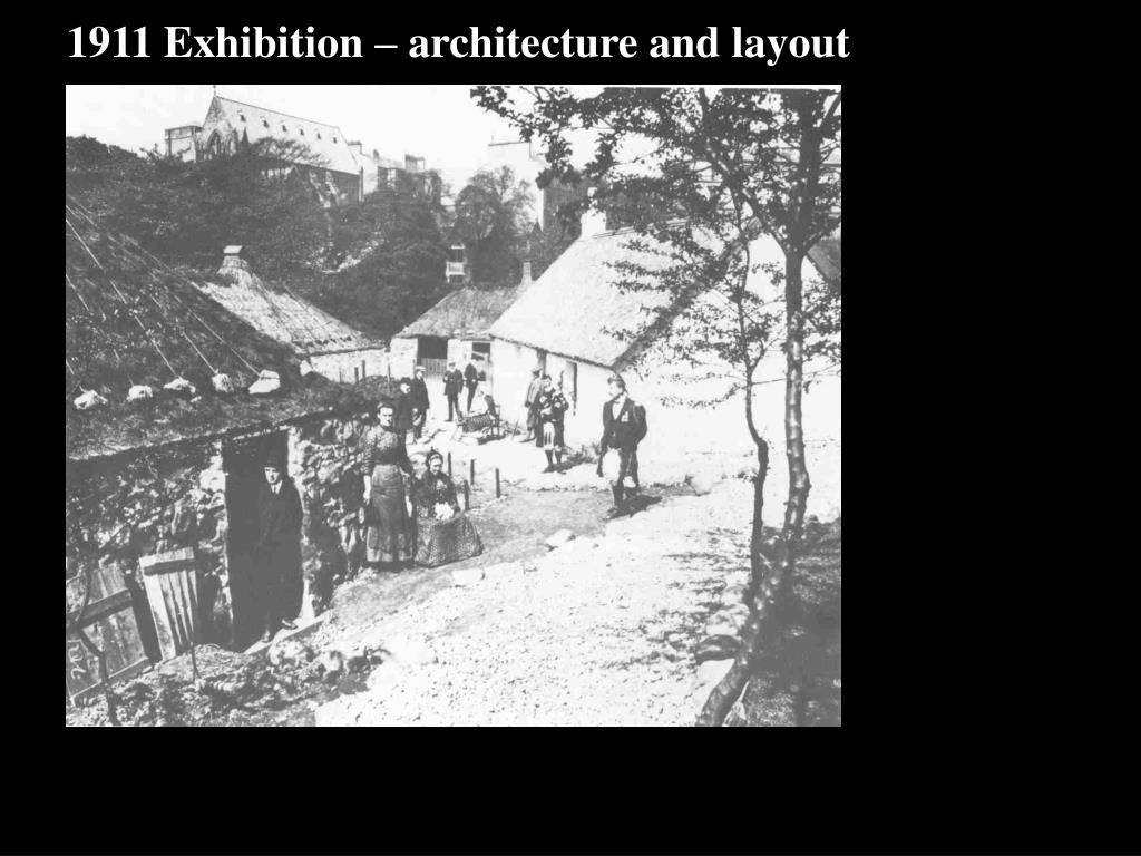 1911 Exhibition – architecture and layout