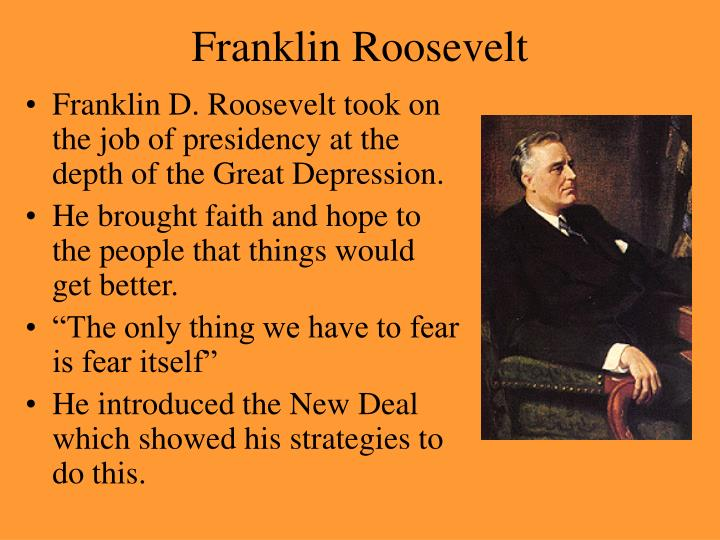 a comparison of franklin d roosevelt and herbert hoovers measures against the great depression Best answer: in fdr's view, his predecessor, herbert hoover, had proven unwilling to take any steps to deal with the crisis of the great depression, and unable to even put any solutions forward.