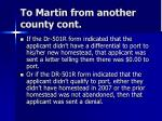 to martin from another county cont20