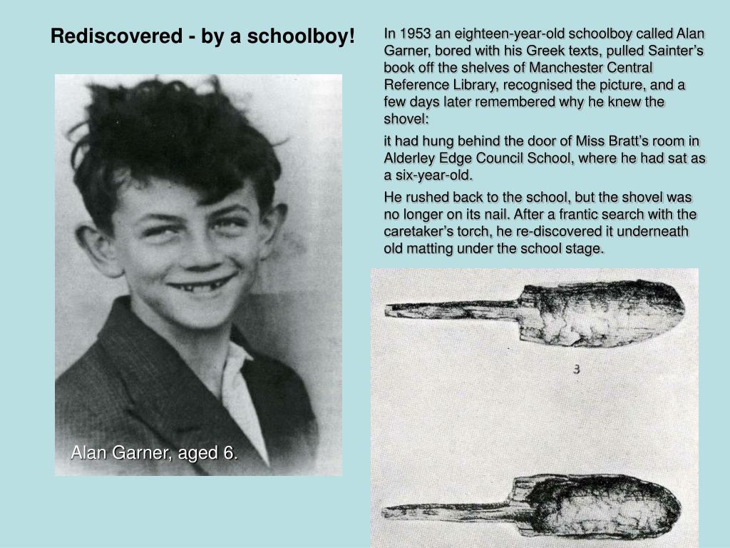 Alan Garner, aged 6
