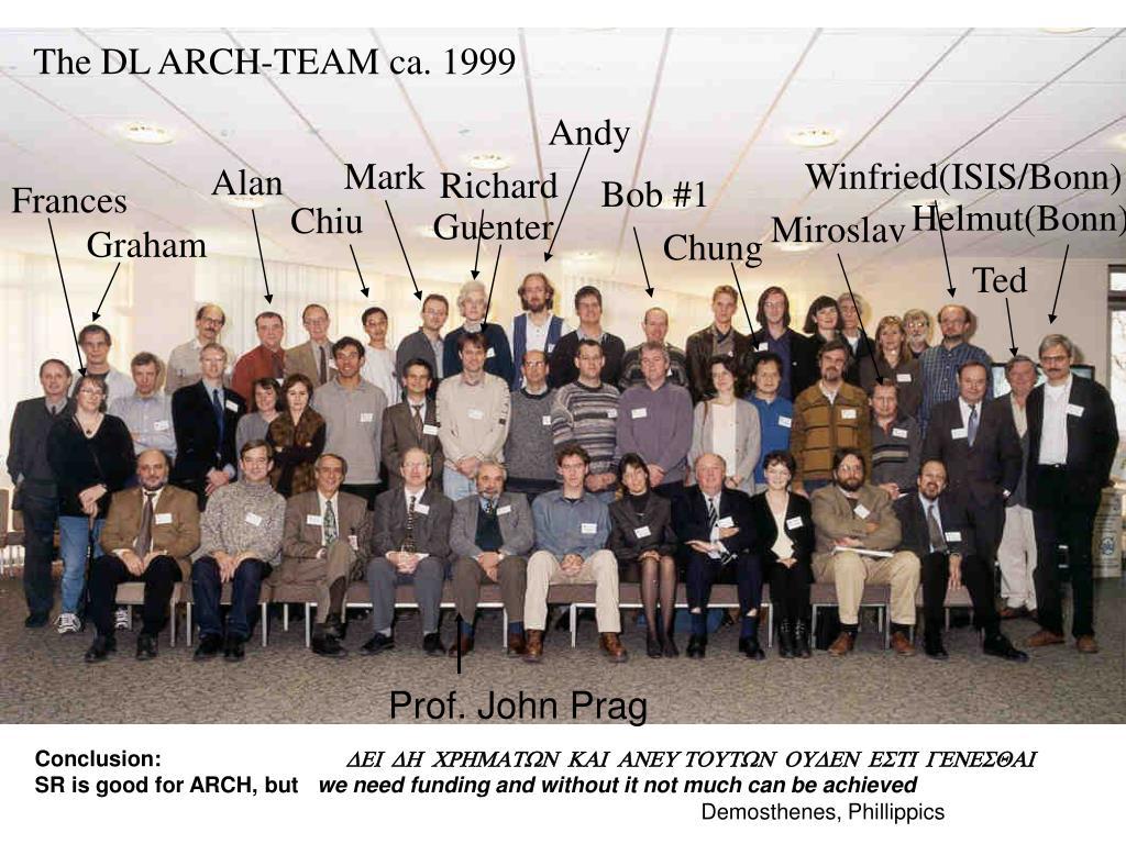 The DL ARCH-TEAM ca. 1999