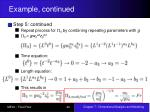 example continued22