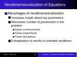 nondimensionalization of equations12