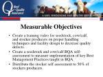 measurable objectives14