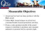 measurable objectives16