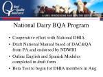 national dairy bqa program