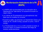 monitorizaci n ambulatoria de la pa mapa
