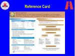 reference card